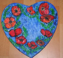 poppy heart by ingeline-art