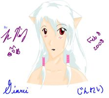 Ginrei using Paint by TheReza13