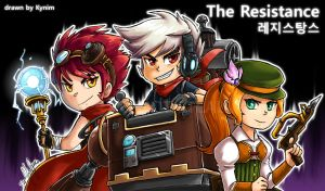 Resistance - The Trio by kynim