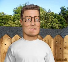 Photorealistic Hank Hill by SirWilly77