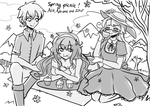 I missed you - Spring picnic! by Maggie-and-Day