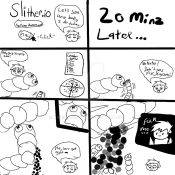 slither.io in a nut shull by Awesomwott