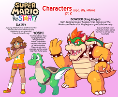 Super Mario ReSTART! - More Characters by jpmeshew