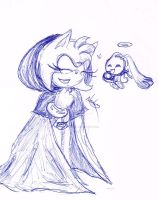 Funny chao! by frutillytha