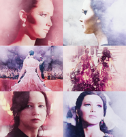 Katniss Everdeen 2 by iseefireflies