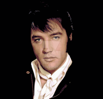 ~ Elvis Presley Potrait by CyCx