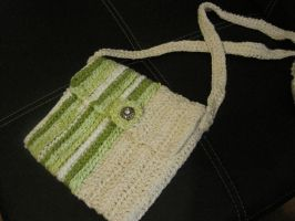 Art Deco Style Crocheted Purse - Completed by graffitica