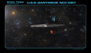 Star Trek AR USS Ganymede NCC-0917 by dragonpyper