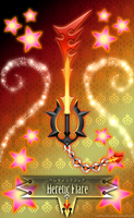 Keyblade Heretic Flare by Marduk-Kurios