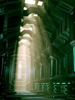 Finished Corridor by DigiVault