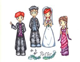 Potter Wedding by Gray-Lily