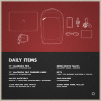 My Daily Items by endosage