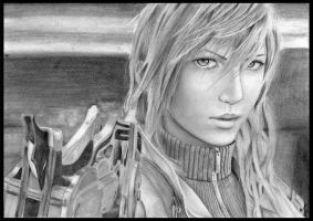 Final Fantasy XII Lightning by shan3990