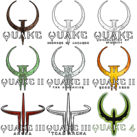 The Complete Quake Icon Pack by blakegedye