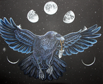 The Moon Cycles by Sidonie