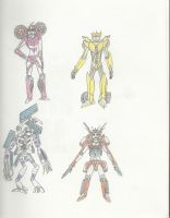 Transformers Characters by Otheerian408
