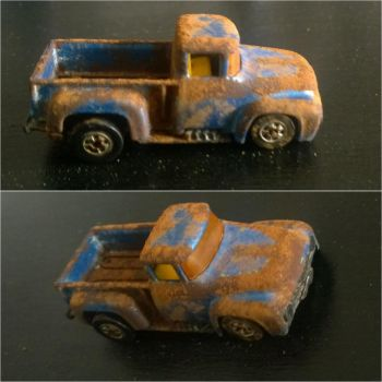 Rust Truck by LadyFenrirUnchained