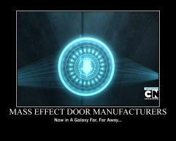 Mass Effect - Star Wars Door Problem by Tajtusek