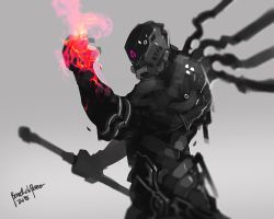 Gallahad of the Flame by benedickbana