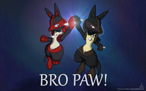 BRO PAW! by Redeye-Rainbow