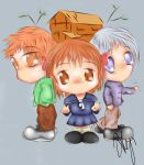 Fruits Basket: Chibi Trio by Sanoni