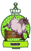 Year of the Sheep/ Ram/ Goat by ElementJax