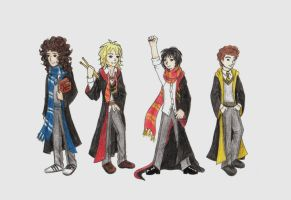 Rock in Hogwarts by Blueberri2357