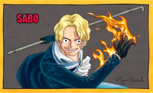SABO - The Revolutionary Badass by Ryan5Gediche