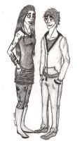 Shadowhunter and Daylighter by RowenSatell