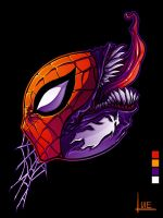Spiderman Threadless Design by Pertheseus