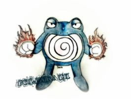 Poliwrath by JamminJulie