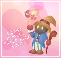 Valentine Card Vivi by Azurelly