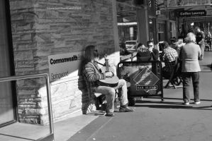 Day 159. Busker by Hipppiee