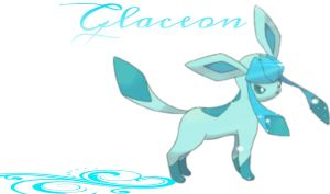 Glaceon Wallpaper by LostCrystal