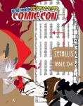 NYCC 2014 @ AA Table 04 by zetallis