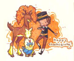 Happy Thanksgiving! by FlourescentRaven