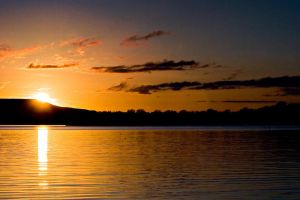 Lough Erne Sunset by mole2k