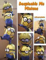 Despicable Me in 3D - Minions by scribo-per-potestas