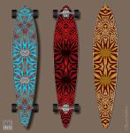 Longboard Sur-Deco EX-1 by INDRIKoff