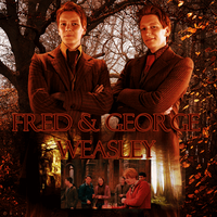 George et Fred Weasley by N0xentra