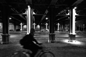 Under the bridge by OlivierAccart
