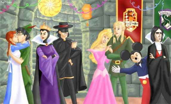 MWPP Era Hogwarts Costume Ball by AgiVega