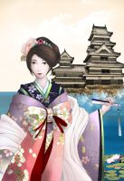 Oiran's Day-Off by coldnessInside