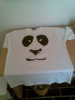 My panda t-shirt design by VIZEarts