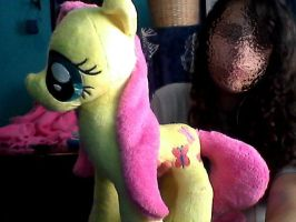 Fluttershy WIP by Chanditoys
