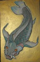 beast koi traditional by missmonster