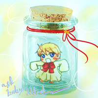 baby america in a bottle bweeheheee by etto-sama