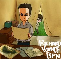 Richard and Young Ben. by hasze