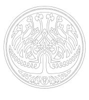 The Royal Seal contour by LeafOfSteel