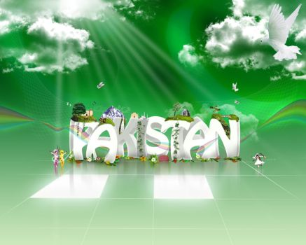 Pakistan Wallpaper by xishan1